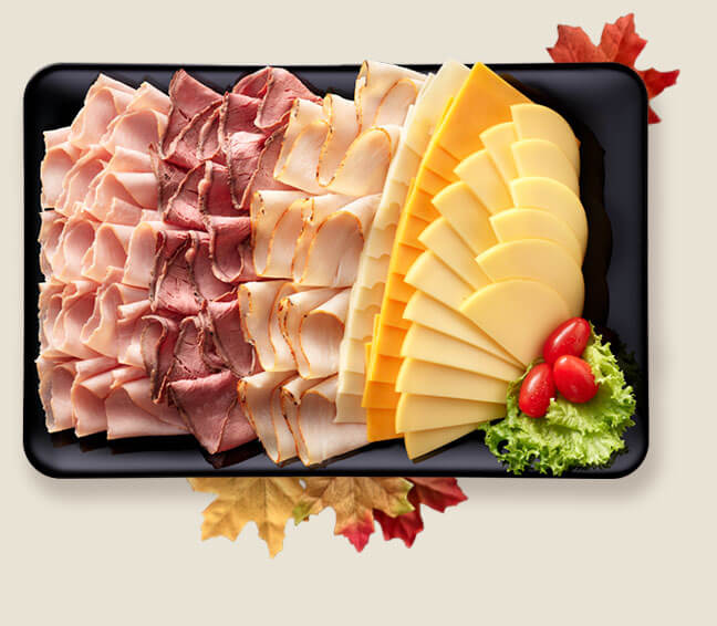 Lowes Foods Meat and Cheese Deli Tray